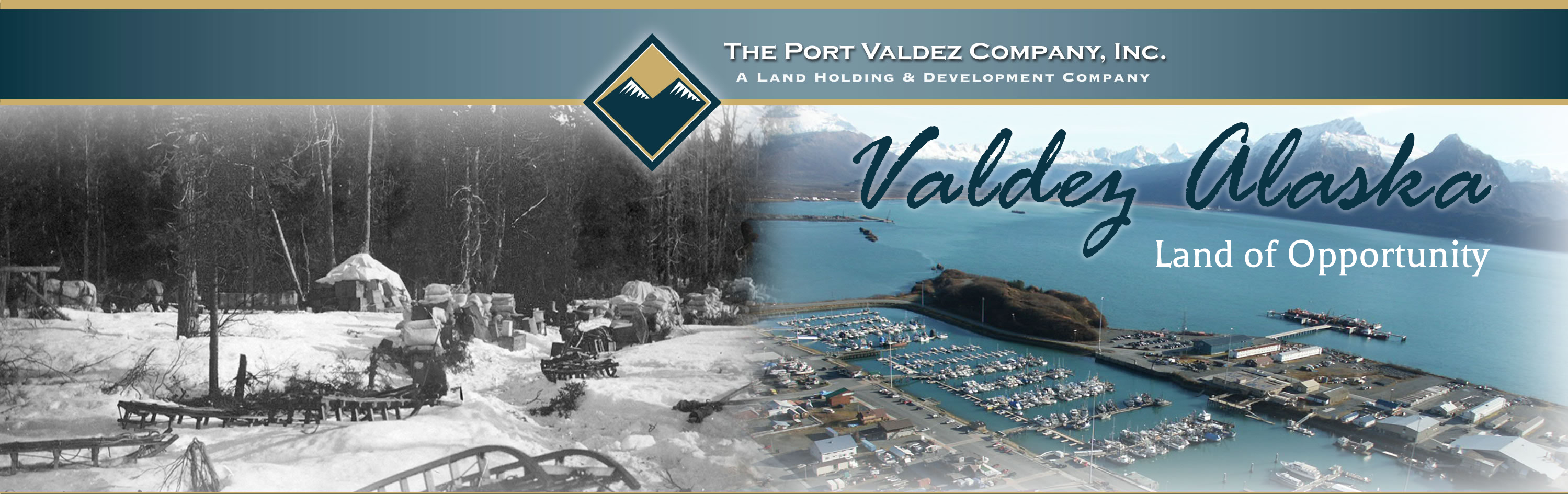 The Port Valdez Company, Inc. Logo