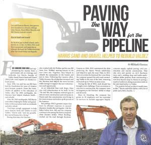 Harris Sand and Gravel helped to rebuild Valdez